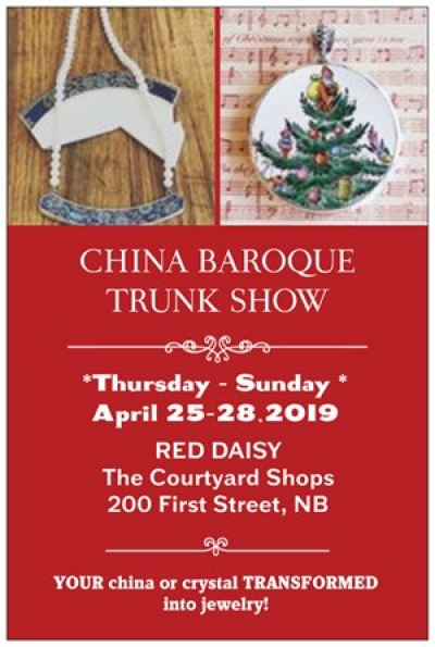 China Baroque Jewelry Trunk Show at Red Dais