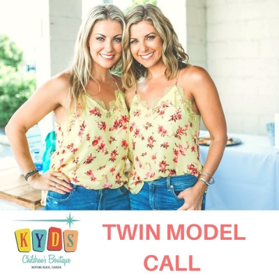 Twin Models Call