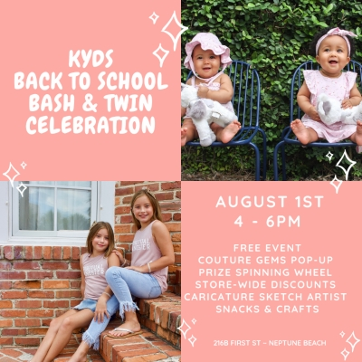 Kyds Back to School Bash & Twin Celebration